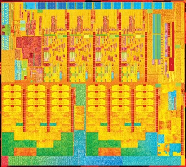 Процессорный кристалл десктопного Broadwell