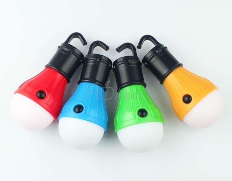 Лампа для палатки на AliExpress