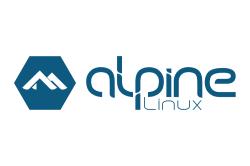 Логотип Alpine Linux
