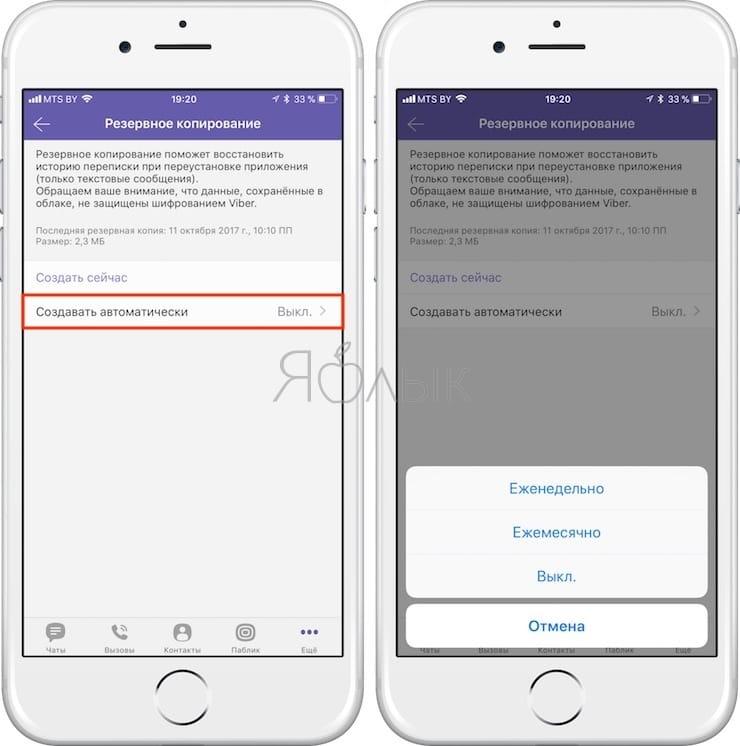Как сохранить и восстановить сообщения (переписку) в Viber на iPhone и iPad