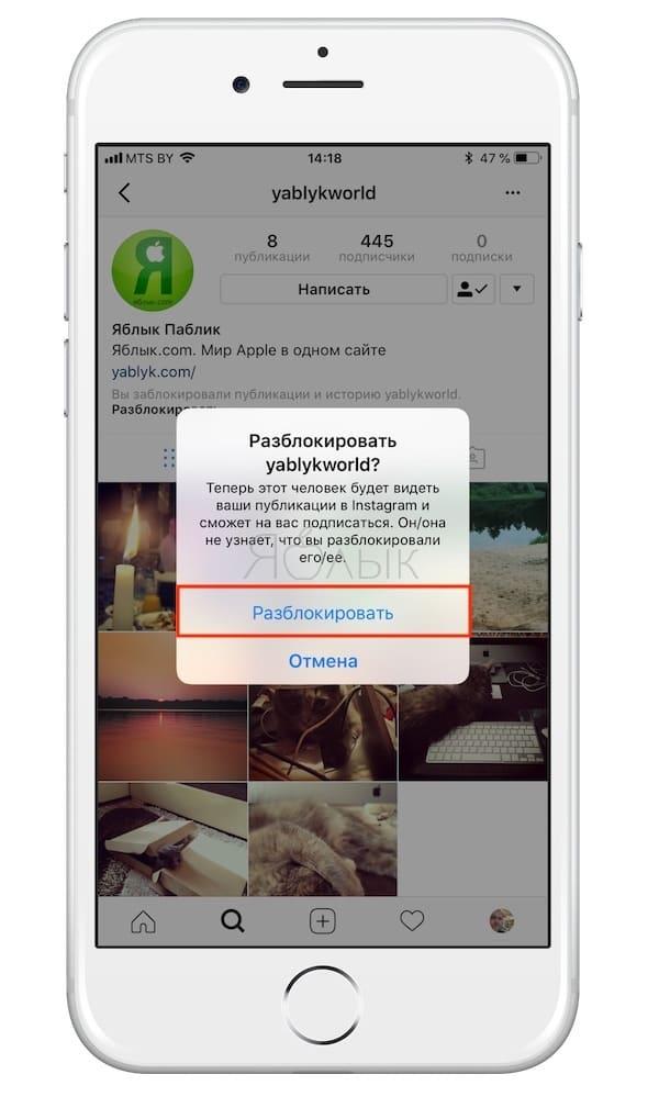 Как скрывать все сообщения и Истории некоторых пользователей в своей ленте без отписки