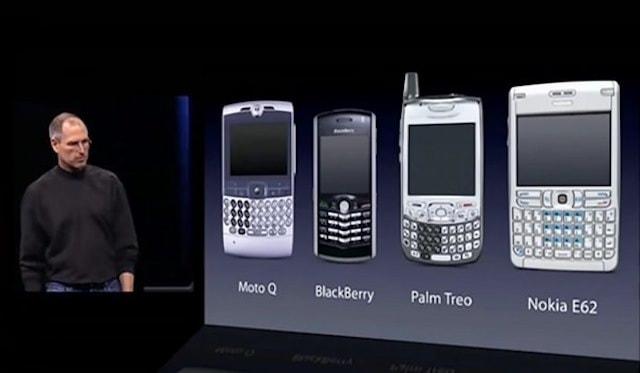 steve jobs pre iphone slide