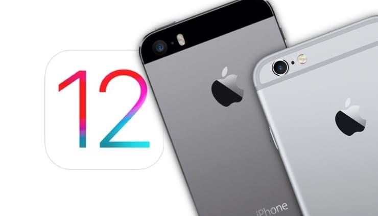 iPhone 5s и iPhone 6 на iOS 12