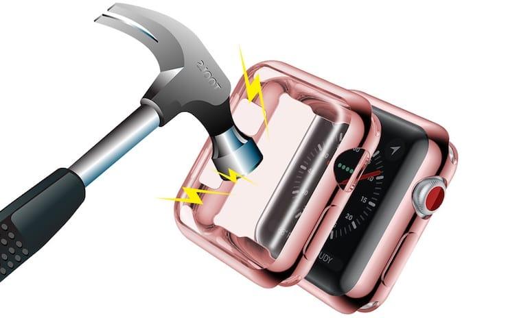 Как защитить дисплей Apple Watch от ударов, царапин