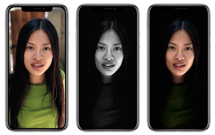 Портретное освещение на iPhone X и iPhone 8 Plus