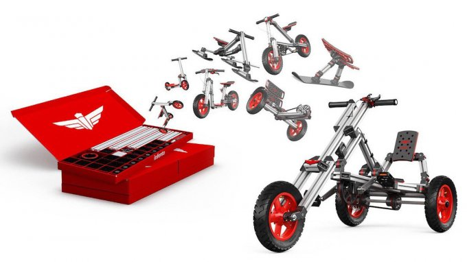 Infento — развивающий вело-конструктор для детей (14 фото + видео)