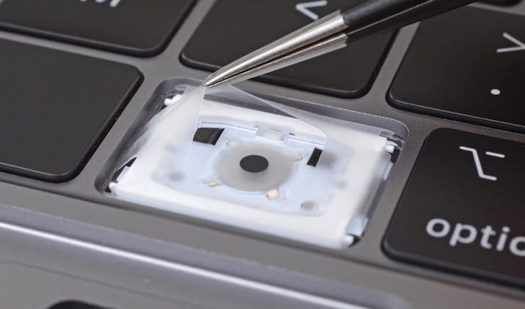 Клавиатура MacBook Pro