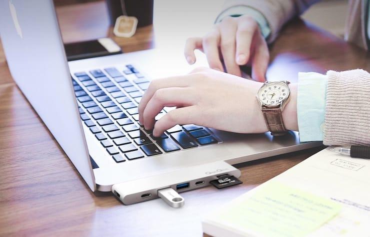 USB (USB Type-C) хаб для MacBook и iMac с AliExpress
