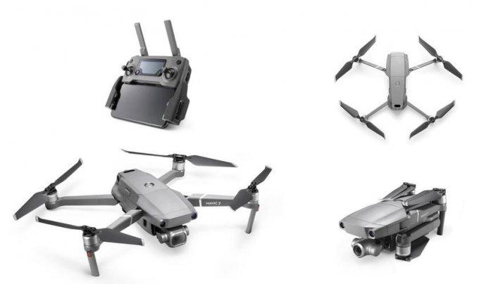 DJI представила складные дроны Mavic 2 — Pro и Zoom (11 фото + видео)