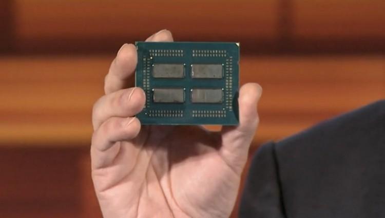 «Голый» процессор AMD Ryzen Threadripper