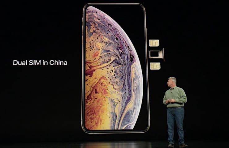 Dual SIM (двухсимочная версия iPhone XR)