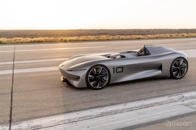 Футуристический концепт-кар Prototype 10 от Infiniti (8 фото + видео)