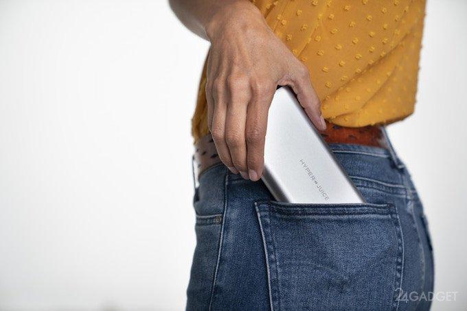 Новой портативной батарее под силу заряжать даже ноутбуки (7 фото + видео)