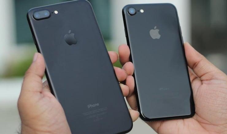 Чем iPhone 7 Plus лучше iPhone 7?