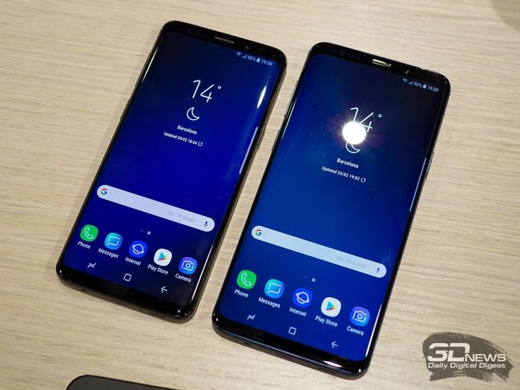 Samsung Galaxy S9 и S9+