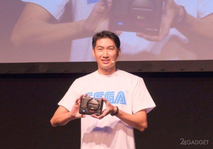 Продажи ретро-консоли Sega Mega Drive Mini отложены (видео)