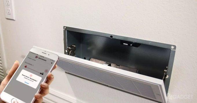 SmartSafes — скрытый смарт-сейф для дома (4 фото + видео)