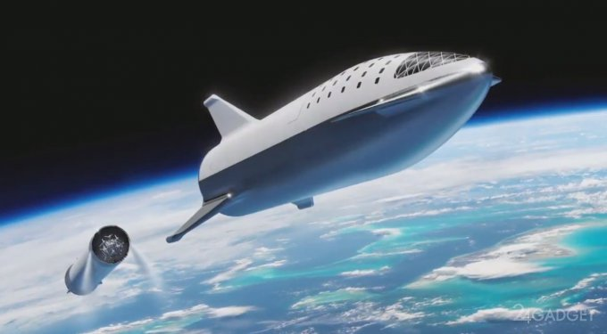 SpaceX вновь поменяла дизайн ракеты BFR и назвала первого лунотуриста