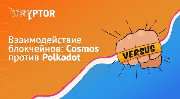 Взаимодействие блокчейнов: Cosmos против Polkadot