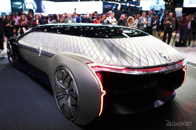 Футуристический концепт-кар Renault заменит лимузины (23 фото + видео)