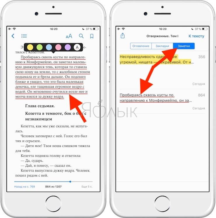Apple Книги (iBooks) – лучшая читалка книг в формате ePub для iPhone и iPad