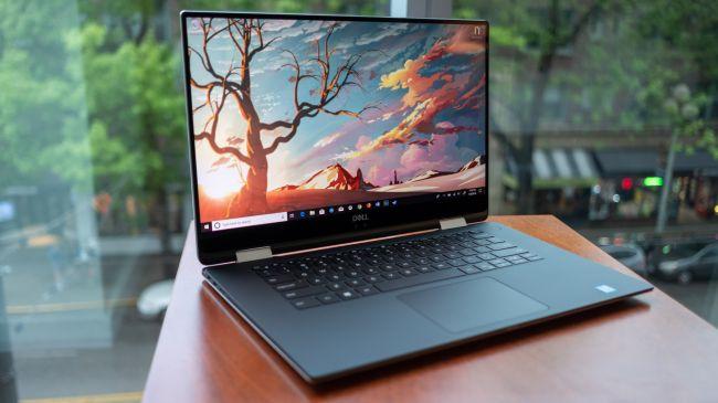 Лучший ноутбук - Dell XPS 15 (2 in 1)