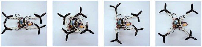 Дрон-трансформер изменяет форму для преодоления препятствий (видео)
