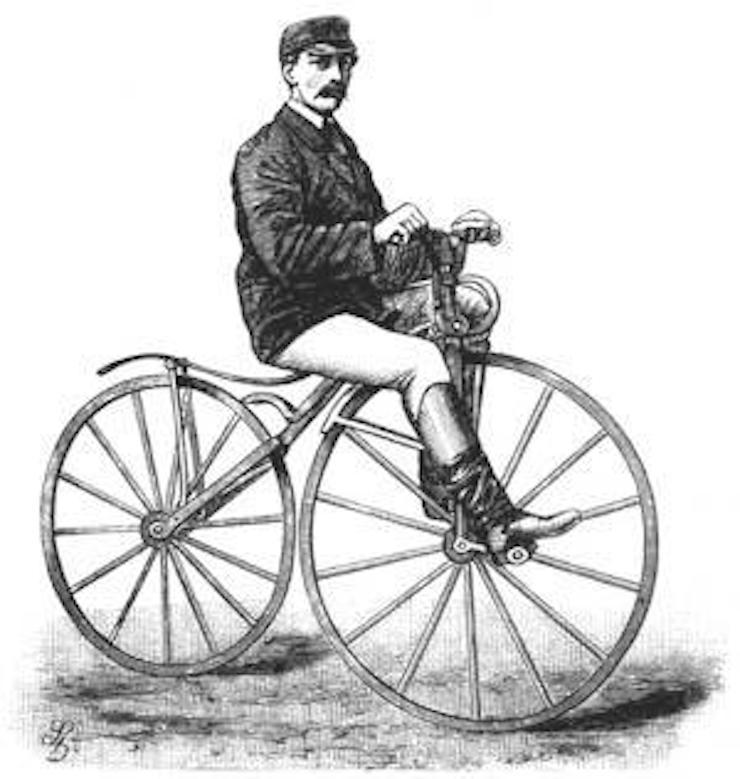 Велосипед Пьера Лальмана