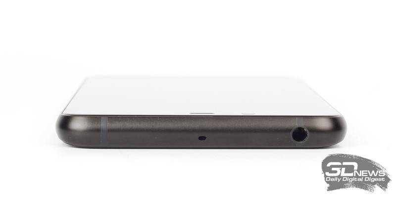 «Яндекс.Телефон», верхняя грань: мини-джек и микрофон