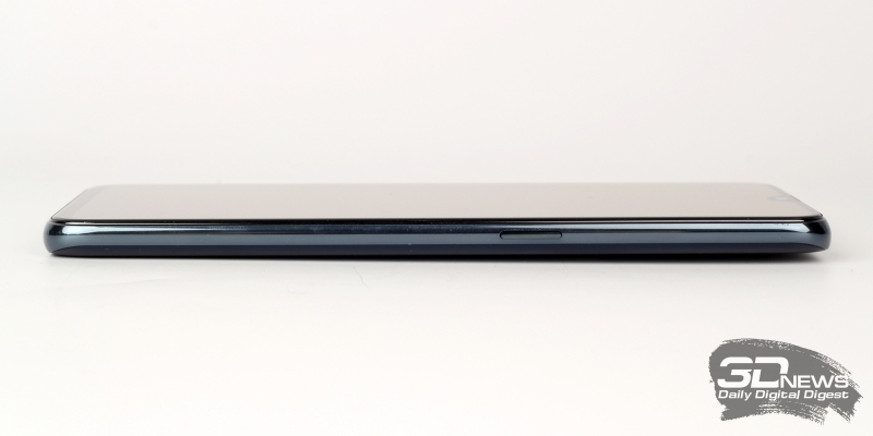 OPPO RX17 Pro, правая грань: клавиша включения