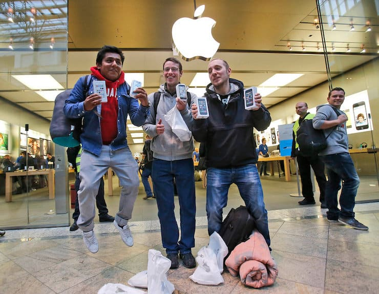 Покупатели iPhone