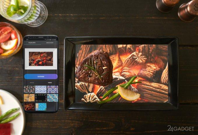 Eatense — первая в мире смарт-тарелка (8 фото + видео)