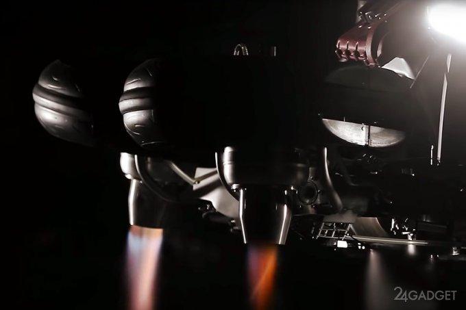 Lazareth интригует летающим байком с реактивными двигателями (5 фото + видео)