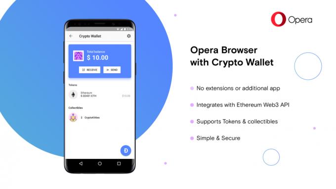 Opera выпустила блокчейн-браузер для Android (5 фото + видео)