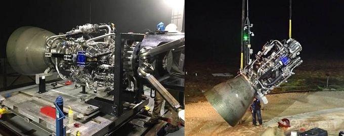 SpaceX испытал лётный образец двигателя сверхтяжелой ракеты Starship (4 фото + 2 видео)