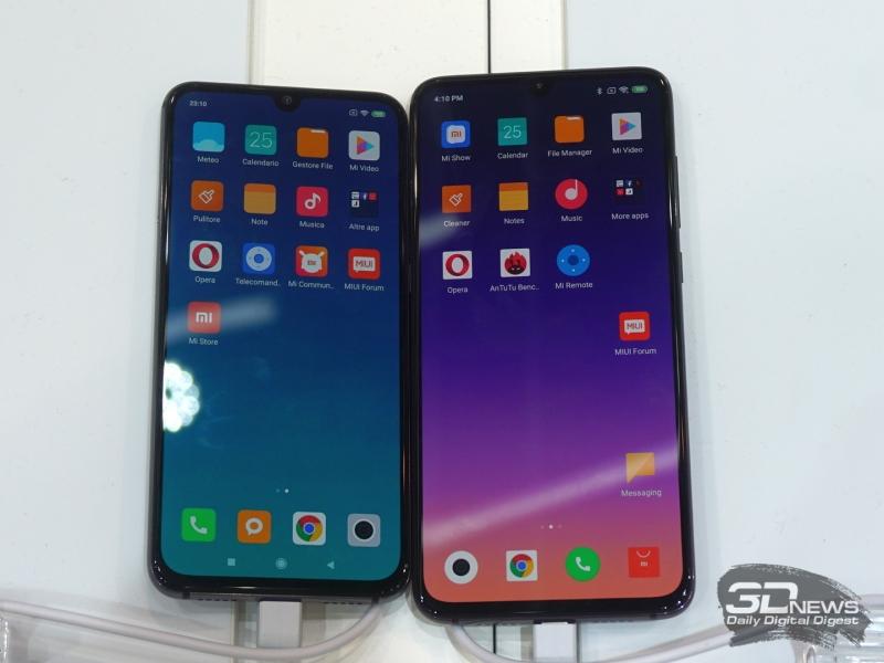 Xiaomi Mi 9 SE и Mi 9