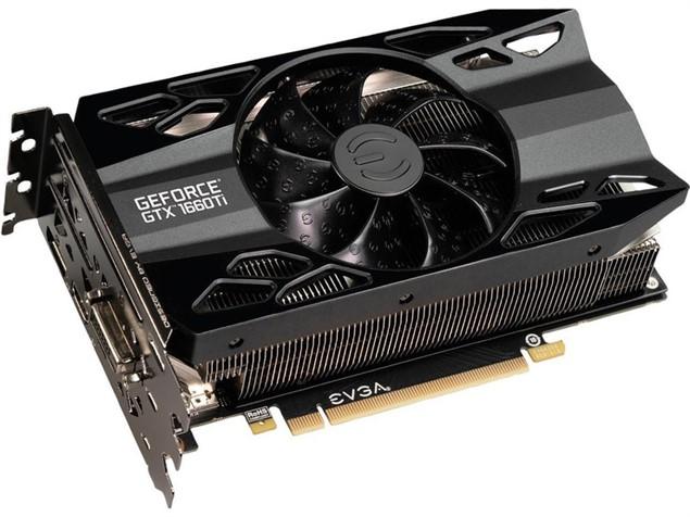 Видеокарта EVGA GeForce GTX 1660 Ti XC Gaming