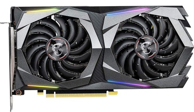 Видеокарта MSI GeForce GTX 1660 Ti Gaming X