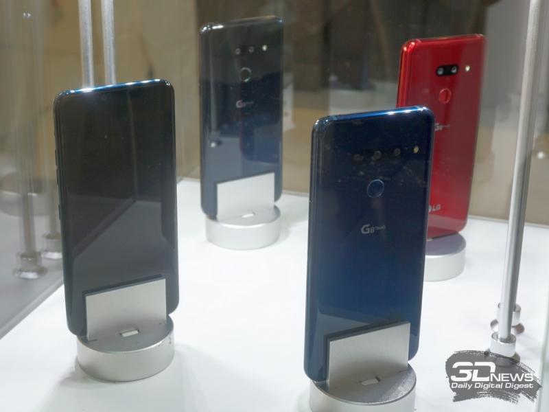LG G8 ThinQ с разным количеством тыльных камеры