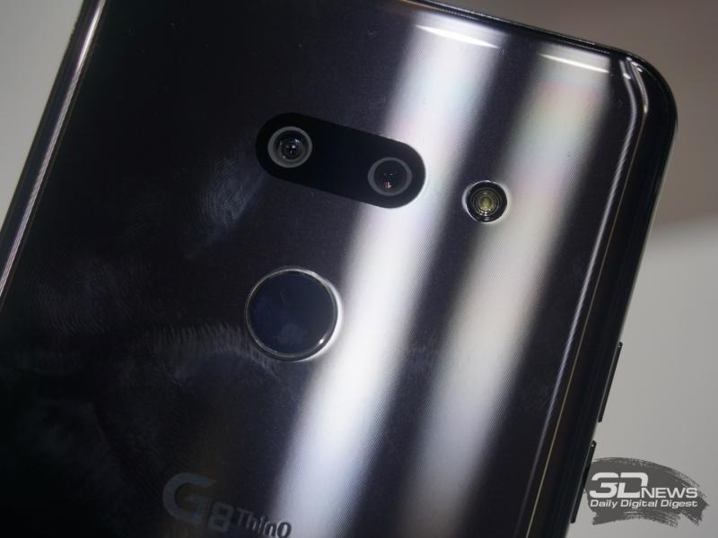 Не запачкать LG G8 ThinQ оказалось очень трудно
