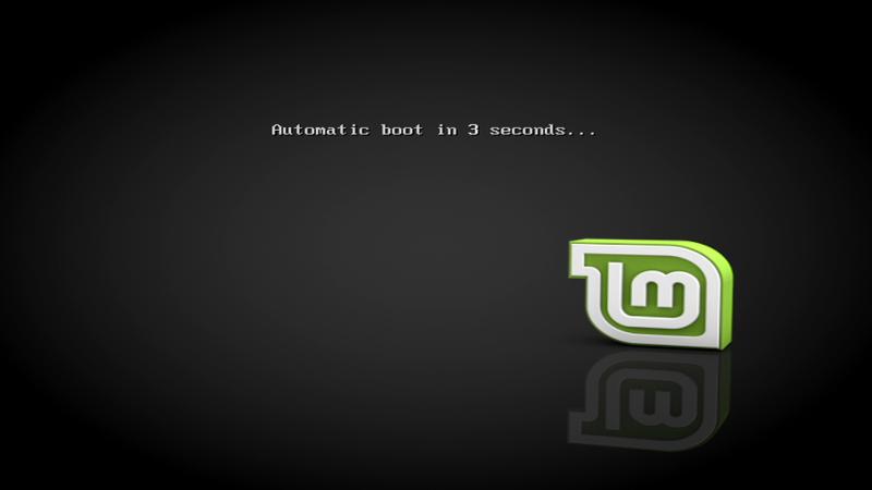 Старт Linux Mint в CSM-режиме