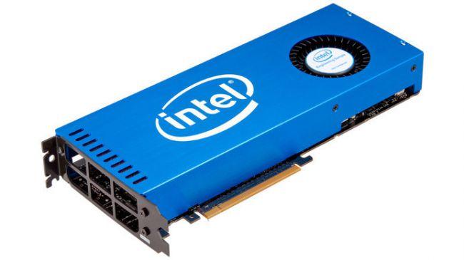 Дискретная видеокарта Intel