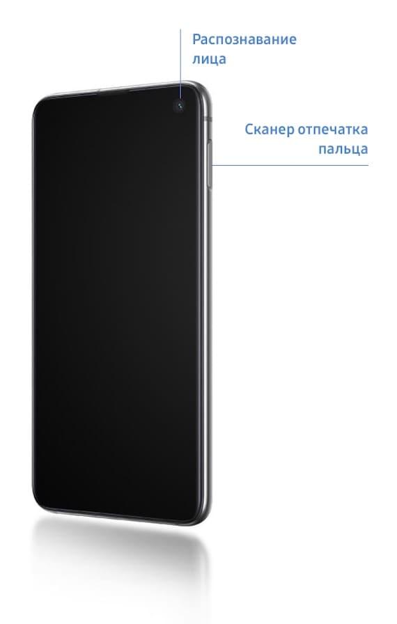 Сканер отпечатков пальцев Samsung Galaxy S10e