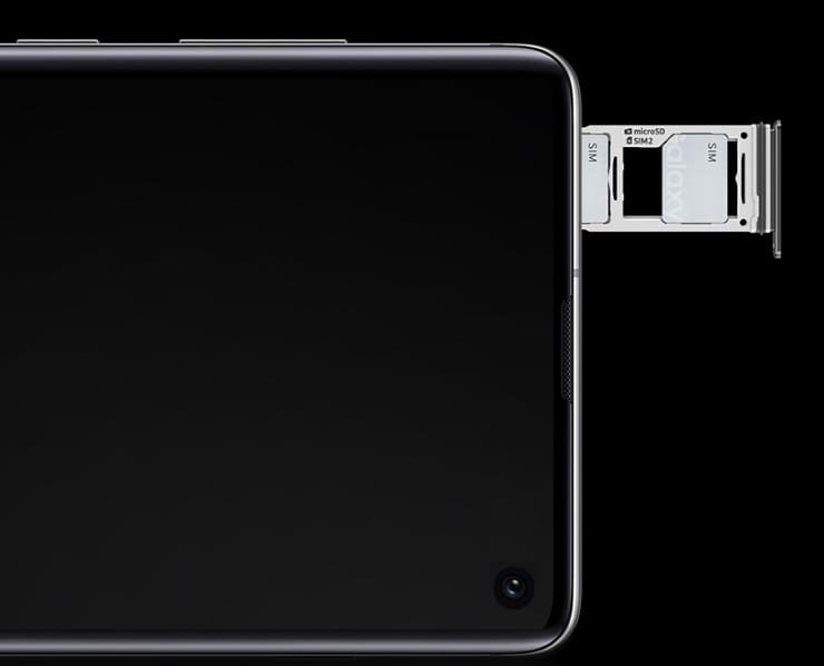 Двойная SIM-карта Samsung Galaxy S10e