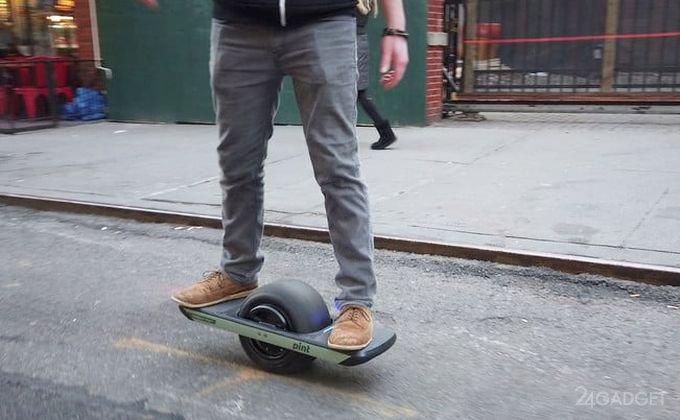 Onewheel — оригинальный гироскутер с одним колесом (7 фото + видео)
