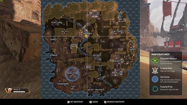 Apex Legends - Игровая карта