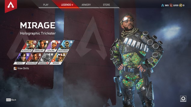 Apex Legends - Мираж
