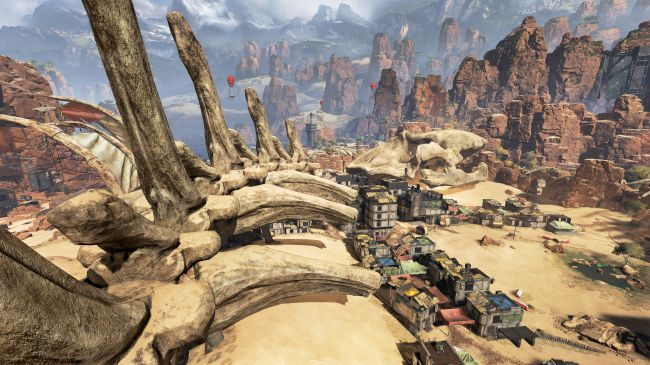 Пустынная локация в Apex Legends