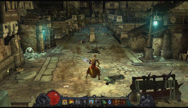 Diablo 3 в стиле Dark Souls