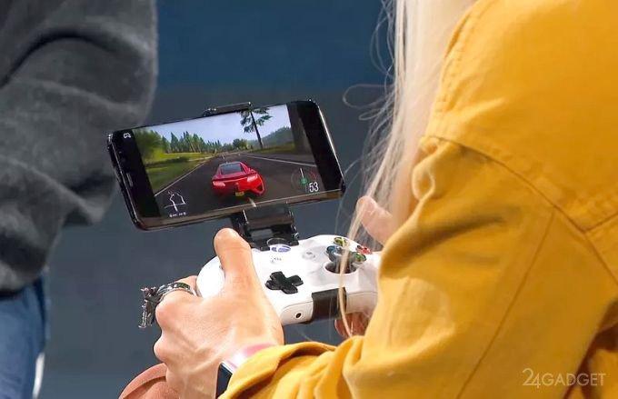 Microsoft показала работу игрового стримингового сервиса Project xCloud (видео)